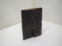 """Picture of """"Medieval"""" leather note-book"""